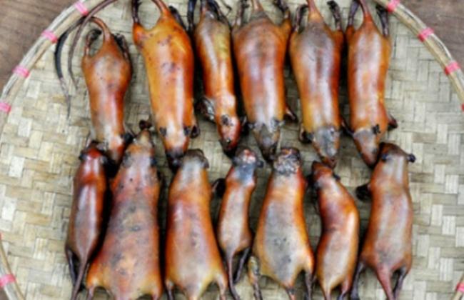 Thịt chuột La Chí ở Hoàng Su Phì